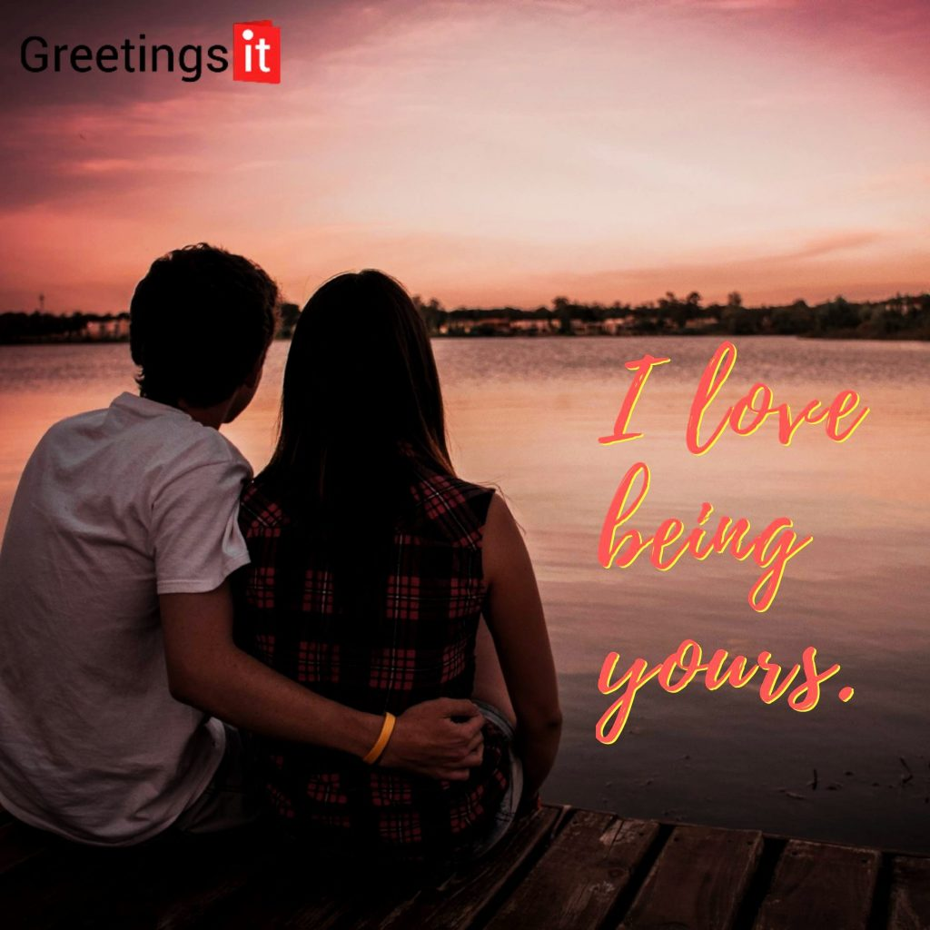 I love being yours love quotes